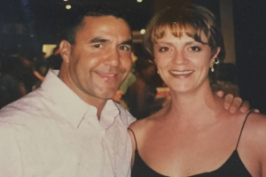 Lisa B and Jeff Fenech