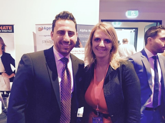 Lisa B with Josh Altman