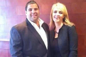 Lisa B and Andrew Morello - The Apprentice with Mark Bouros