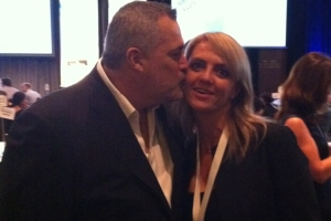 Lisa B and Jeffrey Hayzlett - The apprentice with Donald trump