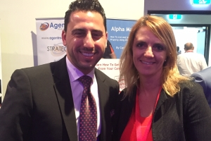 Lisa B and Josh Altman