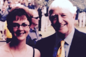 Lisa B and Michael Parkinson
